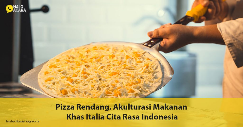 Pizza-Rendang